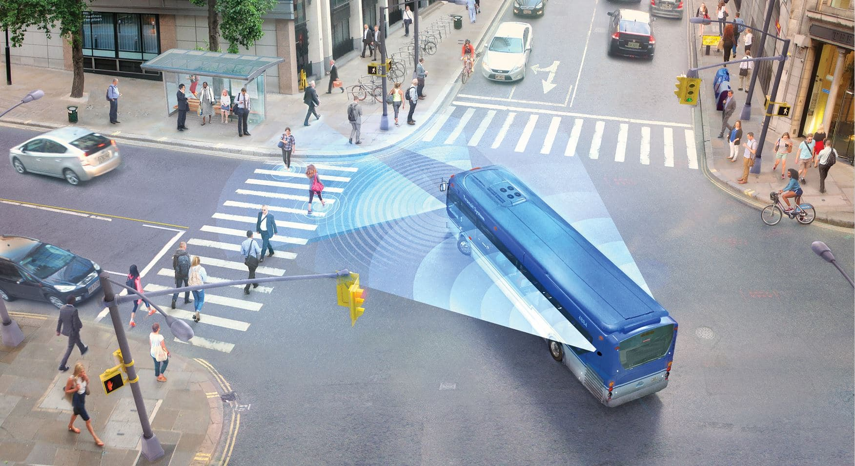Mobileye® Shield+™ Strasse