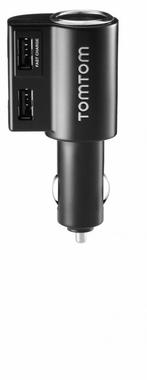 # 188513 # 9UUC.001.04 / 9UUC.001.24 TomTom High Speed Multi-Charger KFZ 12/24V