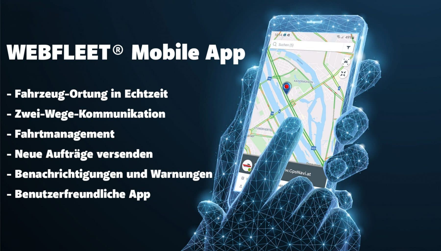 WEBFLEET Mobile-App
