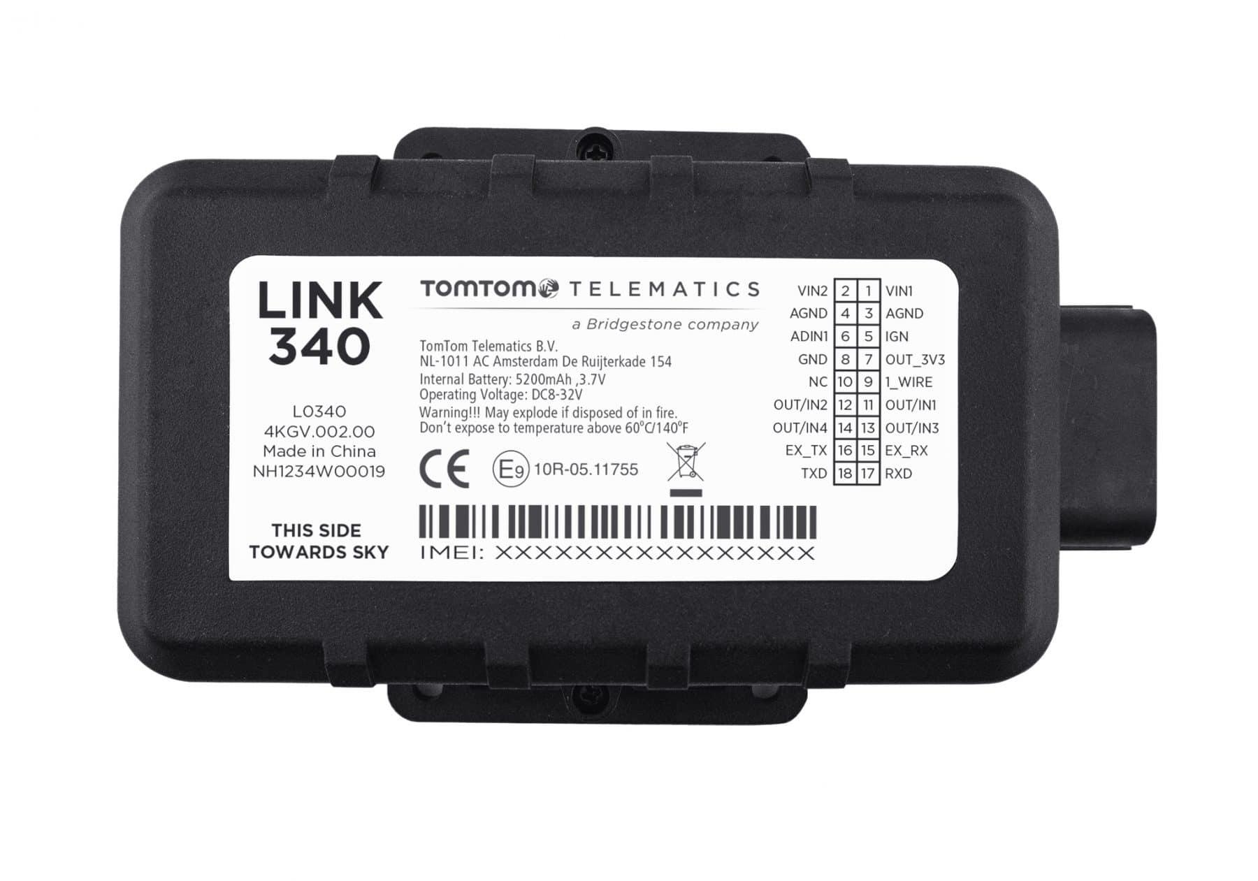 Webfleet Solutions LINK 340 GPS Asset tracking