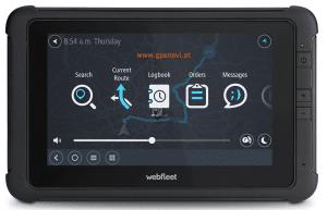Webfleet Solutions Fahrerterminal mit LKW-Navigation PRO 8475 Vorderseite