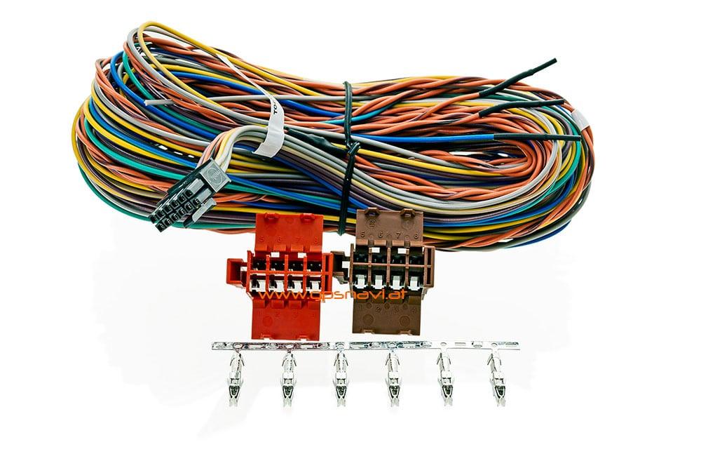 # 10308 # 9KX0.001.07 / 9KX0.001.06 Webfleet Solutions LINK 710 und LINK 740 Tachograph RDL Kabel
