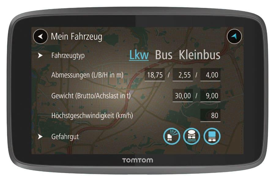 "# 10598 # 1PL6.002.12 TomTom GO Professional 6250 EU 6"" (LKW/Trucker Navigation)"