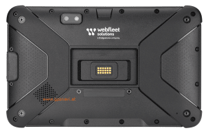 Webfleet Solutions Fahrerterminal PRO 8475 u. PRO 8475 TRUCK Rückseite