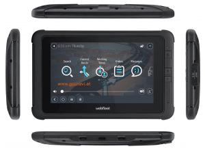 Webfleet Solutions robustes 7 Zoll Tablet - Fahrerterminal PRO 8475 u. PRO 8475 TRUCK verschiedene Ansichten