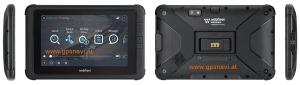 Webfleet Solutions robustes 7 Zoll Tablet - Fahrerterminal PRO 8475 verschiedene Ansichten