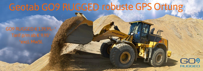 Bild: Radlader - Baumaschinentelematik GO9 RUGGED
