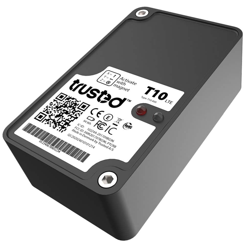 trusted™ T10LTE Batterien IoT GPS Tracker