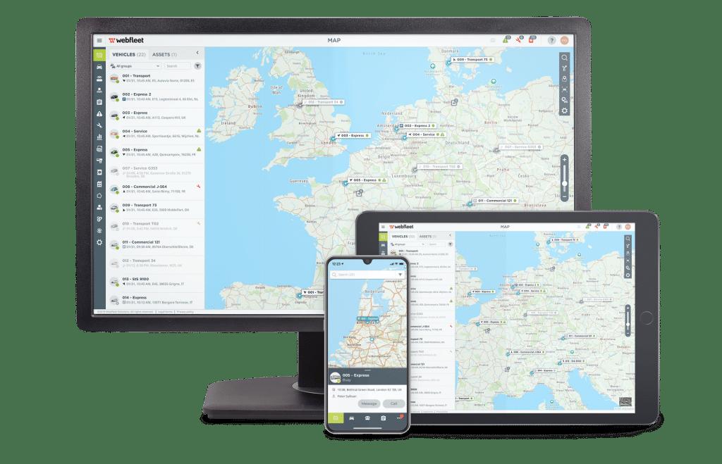WEBFLEET® Desktop und WEBFLEET Mobile